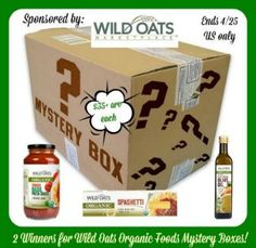 Wild Oats Organic Foods GIVEAWAY #wildoats4all