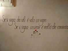 Scritte per pareti Hand Lettering, Stencils, Sweet Home, Layout, Writing, Words, Erika, Design, Home Decor