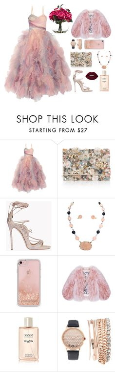 """little secret"" by firdawskone on Polyvore featuring Marchesa, Accessorize, Dsquared2, Rebecca Minkoff, Florence Bridge, Chanel and Jessica Carlyle"