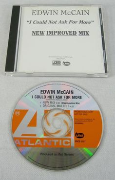 Edwin McCain 1999 I Could Not Ask For More Promo Single CD Alt Rock Music Mint #Rock1990sPopPopRockFolkRockFolkPopAlternativeIndieFolkCountryRock