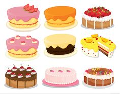 cake illustration - Pesquisa do Google