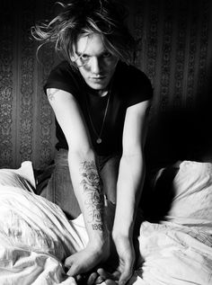 Jamie Campbell Bower Hunger Editorial Portrait Mighty Blighty