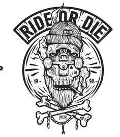 B&W series 2014 on Typography Served Skate Tattoo, Design Art, Logo Design, Skateboard Art, Illustration Sketches, Illuminati, Typography Design, Typography Served, Vector Art