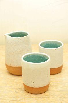 cups via Naoko Minamata Ceramics. Click on the image to see more!