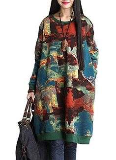 Minibee Women's Autumn Cotton Print Pocket Dress Blue Minibee http://www.amazon.com/dp/B014VO99AW/ref=cm_sw_r_pi_dp_bDI7vb1ENX5ZT