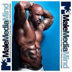 #malemediamind #thick #sexy #muscle #daddy #tattoo #bear #cub