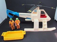 Vintage Fisher Price Adventure People 305 Air Sea Rescue Helicopter Complete Set 1970s Childhood, Childhood Toys, Childhood Memories, Fisher Price Toys, Vintage Fisher Price, Watch Cartoons, Preschool Toys, Vintage Toys, Vintage Stuff
