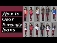 what color goes well with maroon | My Web Value Maroon Top Outfit, Burgundy Jeans Outfit, Burgundy Skinny Jeans, Maroon Pants, Navy Pants, Maroon Color Palette, Color Combinations For Clothes, Pant Shirt, Colors
