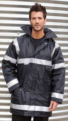 Result Work-Guard Management Coat - Under £26