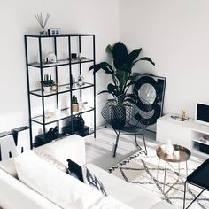 Decor Black And White Living Room Interior Design 23 Ideas Decoration Bedroom, Decoration Table, Decor Room, Art Decor, Decorations, Inspiration Design, Living Room Inspiration, Design Ideas, Interior Inspiration