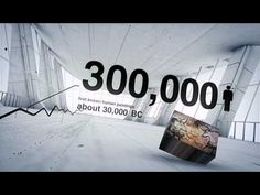 Human History in Numbers - a 3-D Motion Graphic - YouTube