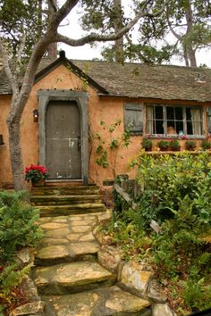 Carmel, CA Cottage - Make sure you click on through to the cottage and read the story and scroll through other outer pictures of it;) It's really, really lovely:)