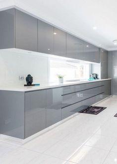 Home Design Ideas Layout Couch Trendy Ideas Luxury Kitchen Design, Kitchen Room Design, Contemporary Kitchen Design, Kitchen Colors, Kitchen Interior, Kitchen Decor, Modern Design, Kitchen Ideas, Contemporary Cabinets