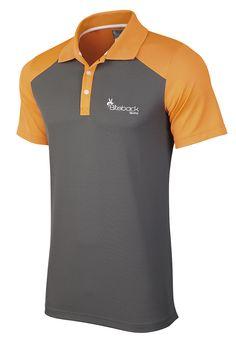Polo Shirt Design, Polo Design, Tee Design, Polo Shirt Outfits, Polo Outfit, Orange Grey, Sports Polo Shirts, Mens Jogger Pants, Woman Shirt