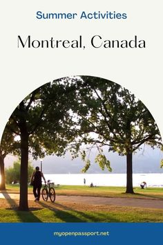 Summer in Montreal is marvelous and you should definitely check it out! Here is a list of some activities that need to be on your bucket list so you can better plan your trip to Quebec, Canada! #montreal #summerinmontreal #summeractivities #visitingmontreal #quebec #canada