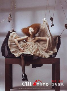 """The Terrier and Lobster: """"Marionette"""" by Bo Lee for Vogue Korea High Fashion Photography, Glamour Photography, Editorial Photography, Lifestyle Photography, Vogue Korea, Vogue Spain, Vogue Russia, Fashion Poses, Fashion Art"""