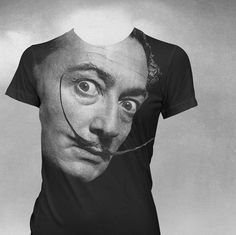 Dali T-shirt American Apparel Womens t-shirt Salvador Dali tshirt by vortextradingcompany on Etsy Salvador Dali, American Apparel, Colorful Shirts, T Shirts For Women, My Style, Trending Outfits, Mens Tops, Clothes, Etsy