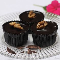 Decadent Chocolate Cupcake Recipe | Chocolate Ganache Cupcakes - Kitchen Art Store and Studio