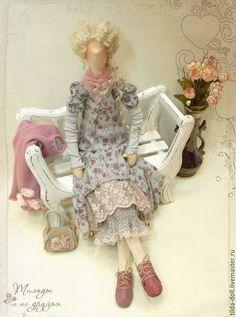 Купить Кукла в стиле Бохо: Инесса - тильда, кукла Тильда, куклы тильды, тильда…