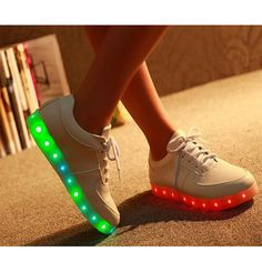 ... Buy Quality led for shoes directly from China led pet Suppliers  7  Colors LED Luminous Shoes Unisex led Shoes Men   Women USB Charging Light  led Shoes ... c28d695ace16