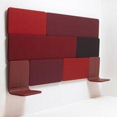 Panneaux muraux FRIZZ contemporain design pour hotellerie restauration bar