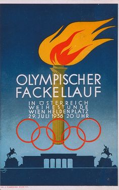 vintage olympics posters