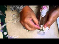 Mixed Media Altered Spice Jar - jennings644 - YouTube