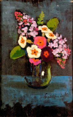 ❀ Blooming Brushwork ❀ garden and still life flower paintings - Madeleine Luka