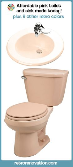 harvest gold toilet seat. Pink toilet and bathroom sink still being manufactured for sale today  plus nine other Update Where to buy vintage color toilets pink blue harvest