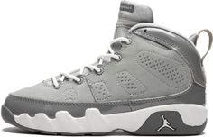 95fc5f2fdfea Jordan 9 Retro 3 4 HI PS Medium Grey White