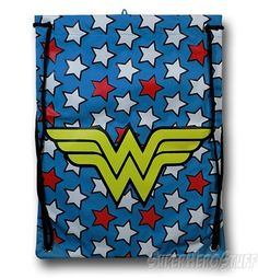 Wonder Woman Drawstring Bag