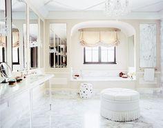 7 Gorgeous Master Bathroom Retreats via @mydomaine