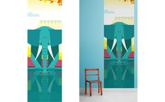 elephant Kids Wall Murals Wallpaper
