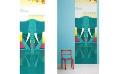 elephant Kids Wall Murals Wallpaper