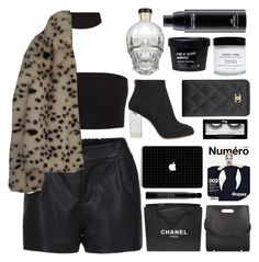"""""""Untitled #2602"""" by tacoxcat ❤ liked on Polyvore featuring Charlotte Olympia, Chanel, Sephora Collection, MAC Cosmetics, Alexander Wang and ASOS"""
