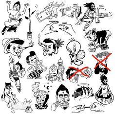 F Tattoo, Poke Tattoo, Real Tattoo, Tattoo Sketches, Tattoo Drawings, Body Art Tattoos, Doodle Characters, Tattoo Graphic, Tattoo Stencils