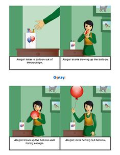 4-step sequence story pictures about everyday life events. 18 printable stories included.More previews available on Pinterest: https://www.pinterest.com/maestertimo/4-step-sequence-story-pictures/Also available as a smartboard activity (with voice support):http://r.gynzy.com/82304f9d