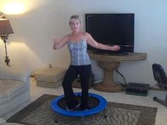 Rebounder Exercise Tips - http://www.thehowto.info/rebounder-exercise-tips/