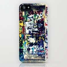 Graffitis in Paris iPhone & iPod Case by Car Design Education Tips - $35.00