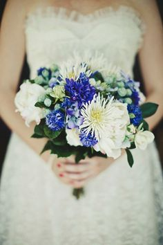 Cancer  Secretive, protective and caring  Colour - metallic blue  Flowers & plants - cornflower, delphinium, ferns, passion flower, hydrangea and iris  Photo | Dan O'Day