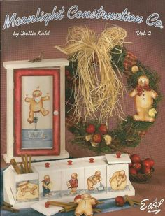 Moonlight Construction Co. Decorative Tole Painting Craft Book