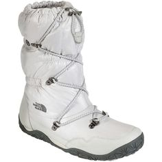 The North Face Ice Queen Women's Snow Boots, Cream - Polyvore