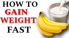 How to Gain Weight Fast Gain Weight Men, Weight Gain Workout, Weight Gain Meals, Weight Gain Meal Plan, Healthy Weight Gain, Healthy Recipes For Weight Loss, Weight Loss Program, Bulking Meals, Low Sugar Smoothies