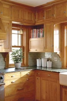 CABINETS OVER WINDOW!!