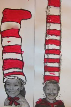 Dr. Seuss Art Projects   ... Dr. Seuss's Reader's Cafe . Gotta love a great Cat in the Hat