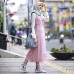 #Hijab #Fashion Inspiration by Mega Melianty - Beautiful Indonesian #Hijabers