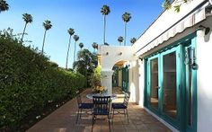 Spanish Courtyard Homes | Patio from Eagle Rock Spanish Revival Home.