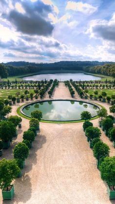 Versailles Gardens outside Paris, France