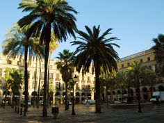 Barcelona, Plaza Real. One of the best cities to live.