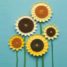 manualidades infantiles flores dibujadas - Buscar con Google